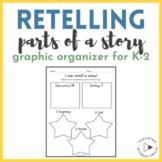 FREE! Kindergarten RL.K.2: Retelling a Story Worksheet