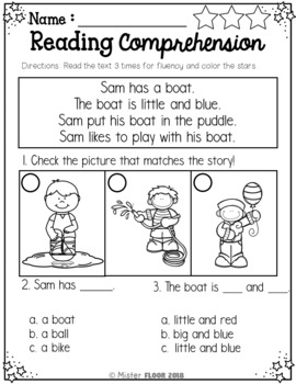 Speaking Worksheets For Kindergarten