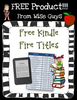 FREE Kindle Fire Books to Download for Your Classroom and Students