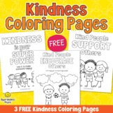 FREE Kindness is Your Superpower Coloring Pages - Kindness