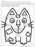 FREE Kitty Cat Fact Families Practice...Print and Go!