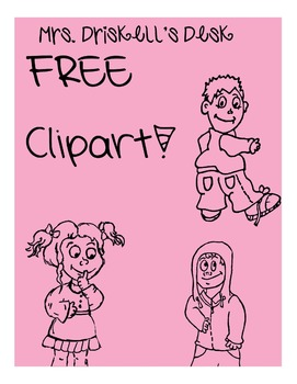 FREE Kasual Kids ClipArt