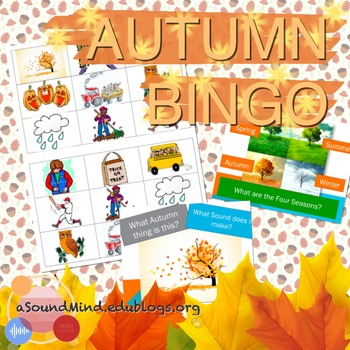 FREE LESSON: Autumn Bingo