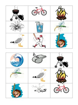 FREE LESSON: Summer Bingo