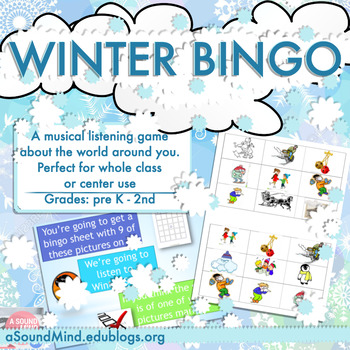 FREE LESSON: Winter Bingo