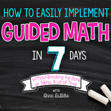 FREE LIVE Guided Math Workshop