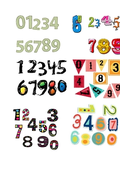 FREE - Labels to Use with Count on Culebra Lesson (Spanish Numbers)