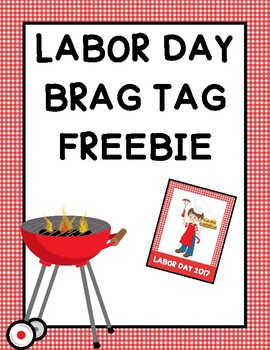 FREE Labor Day Brag Tags
