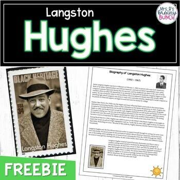 FREE Langston Hughes Biography