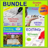 "FREE - Language Arts Bundle   ""Quotation Marks"" (Gr. 3-7)"