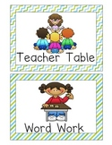 *FREE* Large Literacy Center Icons