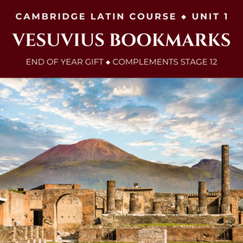 FREE Latin Bookmarks | Cambridge Latin Course Stage 12