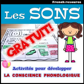 FREE - Le cahier des sons simples et complexes - French Phonics, Sounds