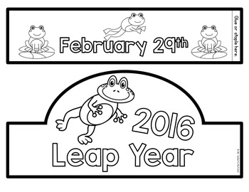 Leap Year Crown {FREE}