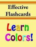 FREE Learn Colors Flash Cards