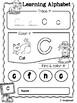 FREE Learning Alphabet Autumn Activities