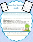 FREE Learning Journal for MATH Lessons