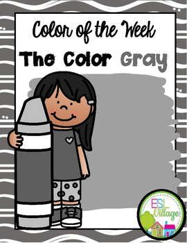Learning My Colors {Gray}