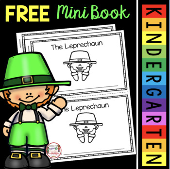 FREE Leprechaun Book - Reading with Comprehension Questions - St. Patrick's Day