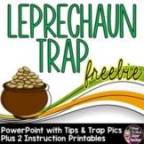 Leprechaun Trap Printables and PowerPoint