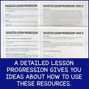 FREE Lesson Pack: Teach RL.5.1 With Esperanza Rising