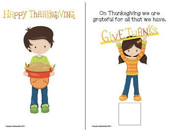 FREE Let's Talk About Thanksgiving Interactive Book for Speech Therapy