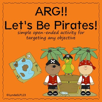 FREE: Let's Be Pirates!  (open-ended game)