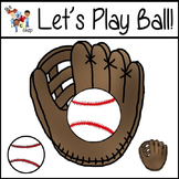 FREE! TLC Clipart - Let's Play Ball!!!