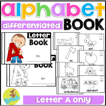 FREE Letter A mini reader toddlers preschool