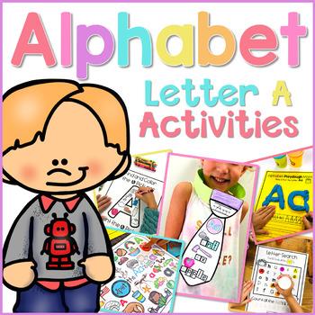 Alphabet Letter A Activities