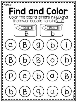 FREE Letter B Alphabet Worksheets by My Teaching Pal | TpT