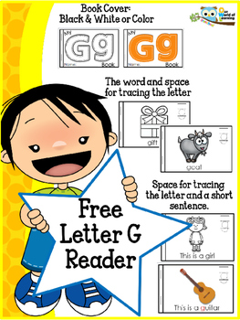 FREE Letter G mini reader