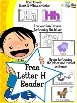 FREE Letter H mini reader