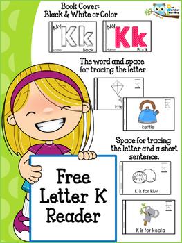 FREE Letter K mini reader