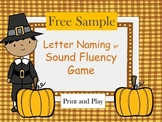 FREE Letter Naming or Sound Game