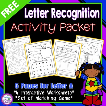 FREE Letter Recognition Activities