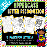 FREE Letter Recognition Activities | Distance Learning