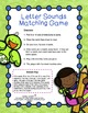 Reading Centers Letter Sound Games | Literacy Centers Kindergarten FREE
