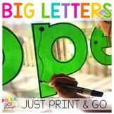 FREE Letter Tracing Big Alphabet