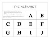 FREE Letters of the English Alphabet
