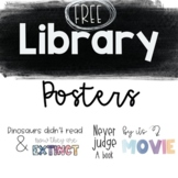 FREE Library Posters