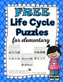 FREE Life Cycle Puzzles