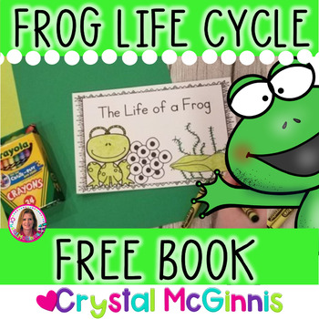 FREE Life Cycle of a Frog Emergent Reader