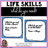 Life Skills What Do I Need BOOM Cards FREE digital activit