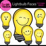 FREE Lightbulb Emotion Faces {Clipart}