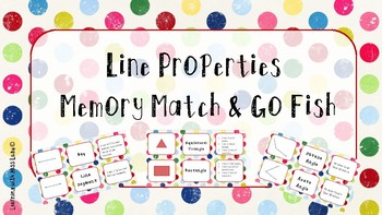 FREE Line Property Memory Match