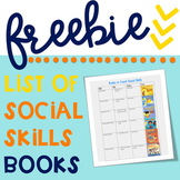 FREE List of Social Skills Books