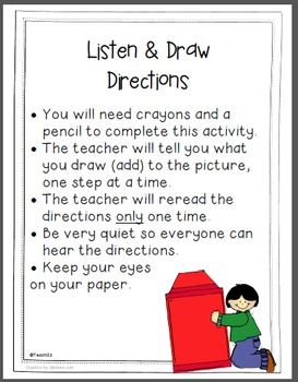 Listening Skills - Listen and Follow Directions