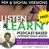 FREE! Listening Skills Podcast Activity, Listen & Learn #1