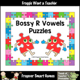 Bossy R Vowels Word Puzzles